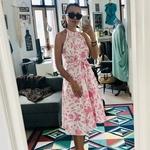 Kayla Batik Wrap Dress