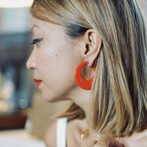 Acylia Wave Earrings