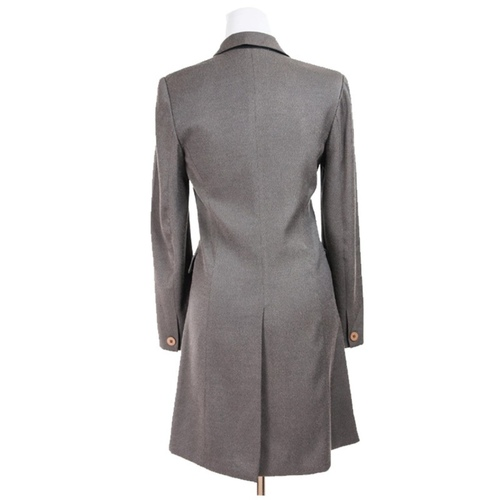DKNY Vintage Double-Breasted Wool Coat