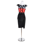 Fashion Star by Saks Fifth Ave Black and Red Dress