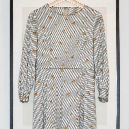 Vintage Mini Floral Dress