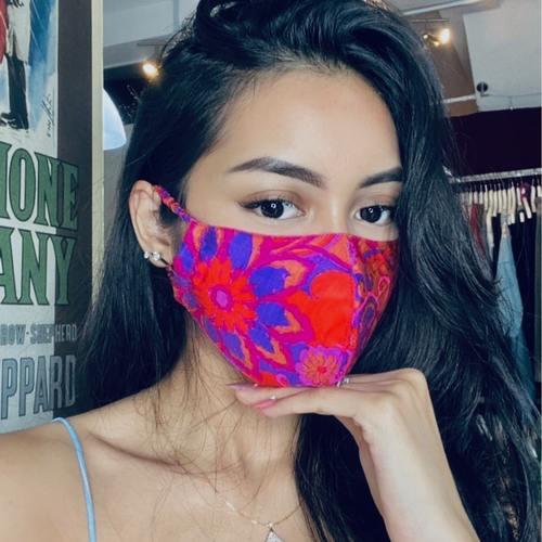 Dahlia Face Mask