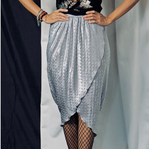 Valerie Metallic Skirt