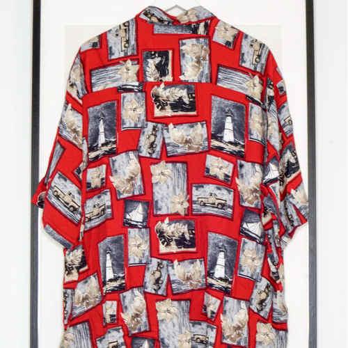 Vintage Red Puritan Shirt