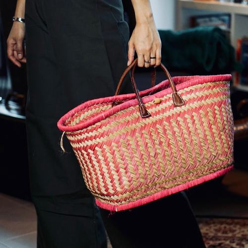 Tropez Basket Bag