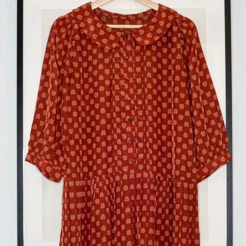 Vintage Brun Dress