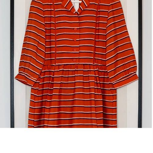 Vintage Nautical Striped Dress