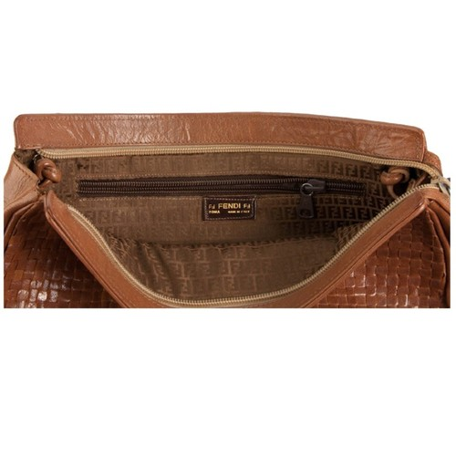 Fendi Lizardskin Shoulder Bag
