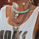 Indra Bull Necklace