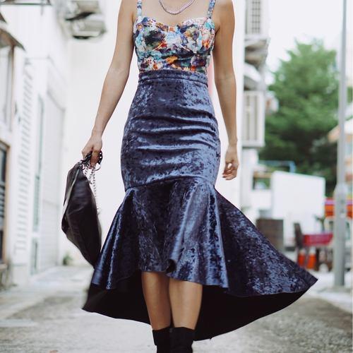 Mia Velvet skirt
