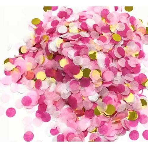 Confetti - 15g Pink,White,Gold