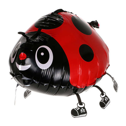 [Helium Inflated] Ladybug Animal Walker Balloon