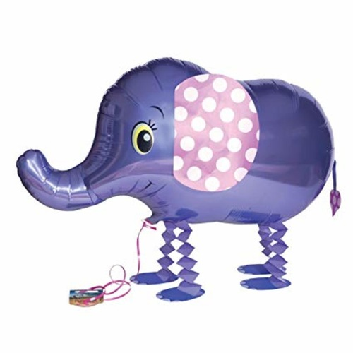 [Helium Inflated] Elephant Animal Walker Balloon