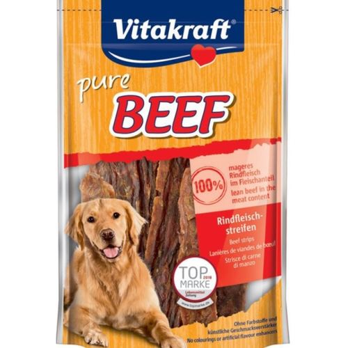 Vitakraft Pure Beef Strips - 80 g  BUY 1 GET 1 FREE