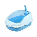 Cat Litter Box With Cleaning Scoop - L486 x W338 x H221mm