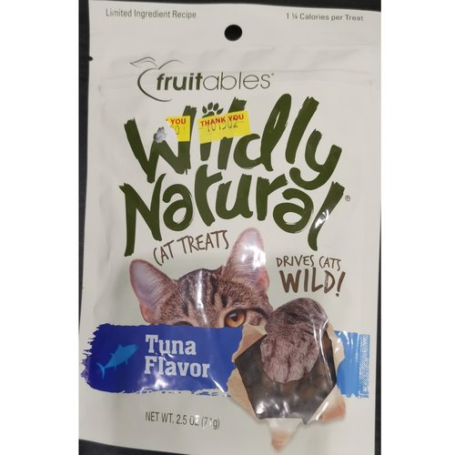 Wildly Natural Tuna Cat Treats - 71g Made in USA