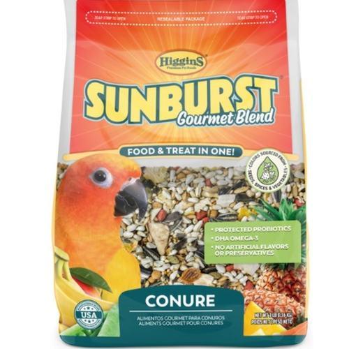 SUNBURST GOURMET BLEND Conure - 1.36Kg
