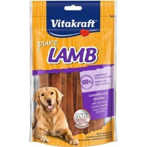 Vitakraft Pure Lamb Strips - 80 g  BUY 1 GET 1 FREE