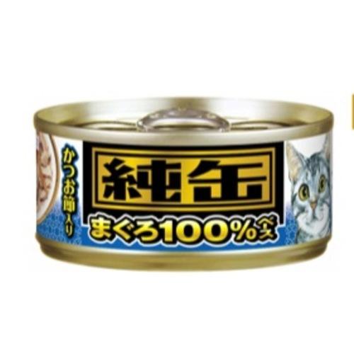 Aixia JUN-CAN MINI - 100 TUNA + TOPPING - 65G  24 CANS Per Set