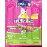 VITAKRAFT CAT STICK Chicken & Cat Grass - 3 Pcs