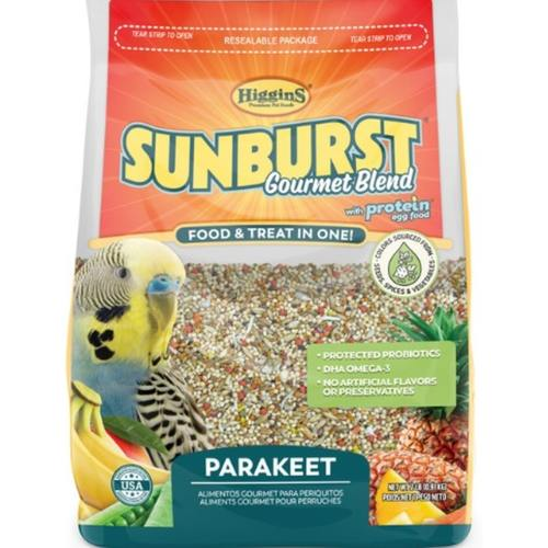 SUNBURST GOURMET BLEND Parakeet - 0.91Kg