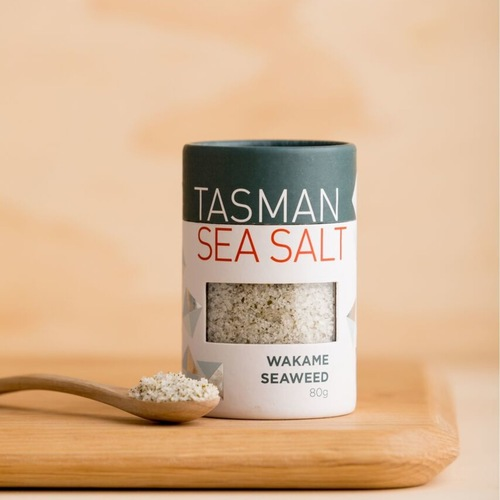 Tasman Sea Salt With Wakame Seaweed (80g)