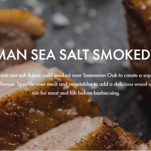 Tasman Sea Salt Smoked Salt
