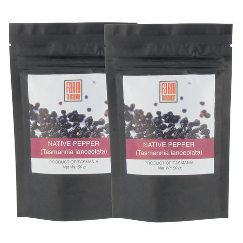 Tasmanian Pepper Berry (2x50gm)