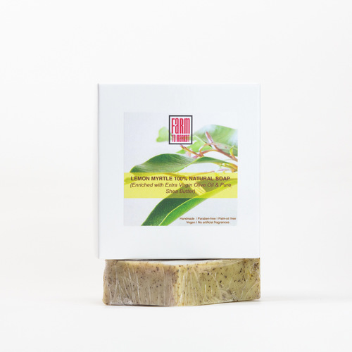 Handmade Lemon Myrtle Olive Oil Soap