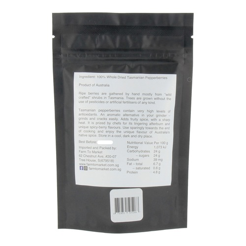 Tasmanian Pepper Berry 2x50gm