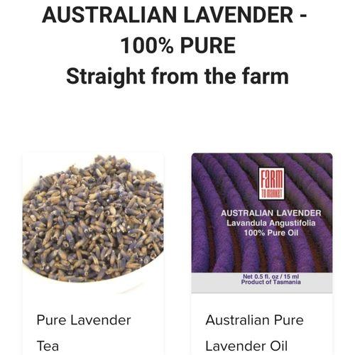Australian Pure Lavender Oil 15ml