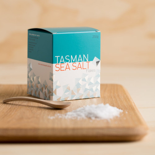 Tasman Sea Salt Flakes Box (250g)