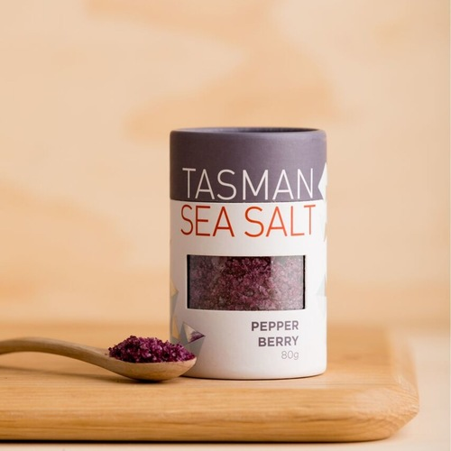 Tasman Sea Salt With Pepper Berry (80g)