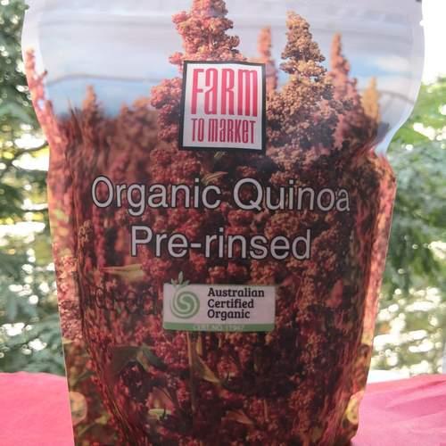 Australian Organic Quinoa (8x500gm)