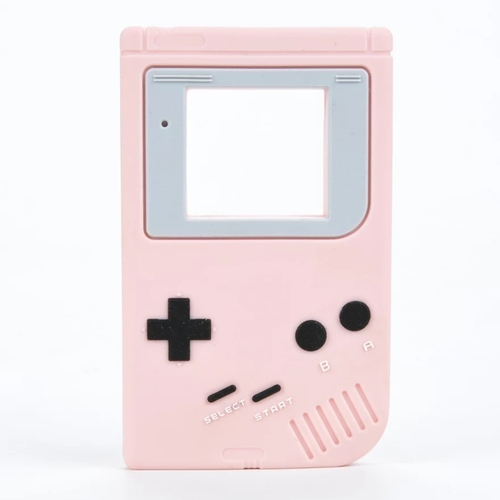 Baby Teether Gameboy (Pink)