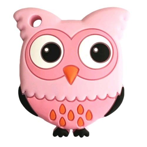 Baby Teether Owl (Pink)