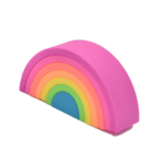 Rainbow Silicone Stacker (Small)