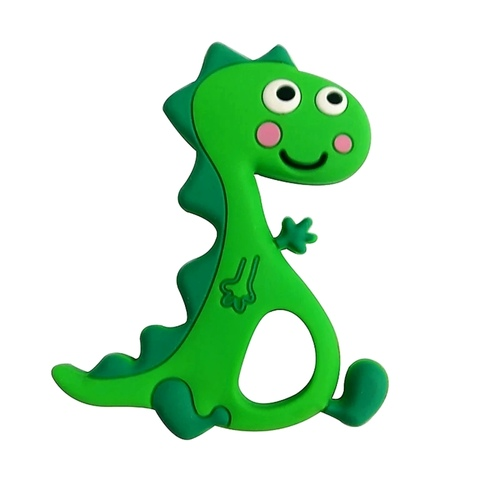 Baby Teether Rexy Green