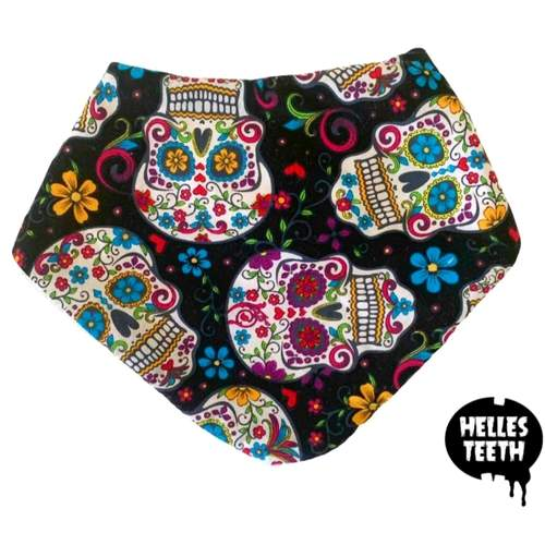 Candy Sugar Skull Bib