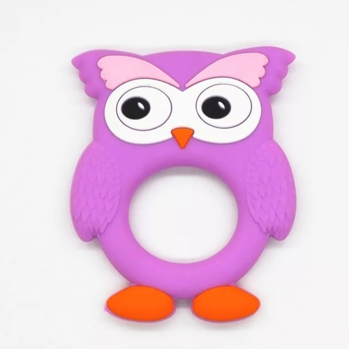 Brow Owl Teether Purple