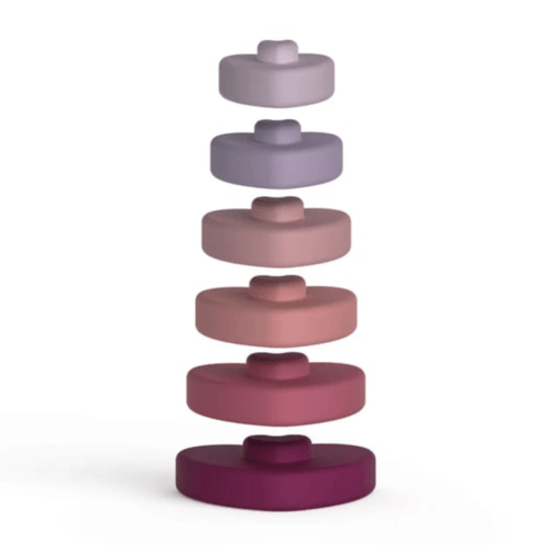 Heart Silicone Stacker