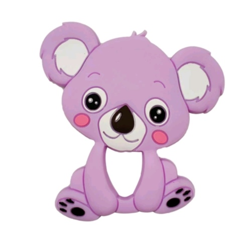 Baby Teether Koala Purple
