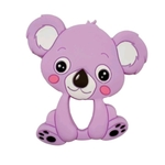 Baby Teether Koala Purple