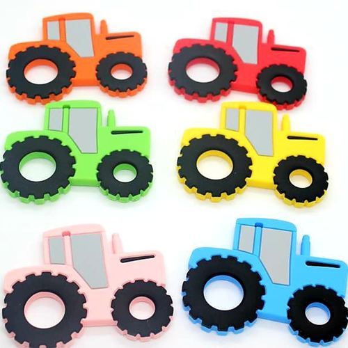 Baby Teether Tractor (Green)