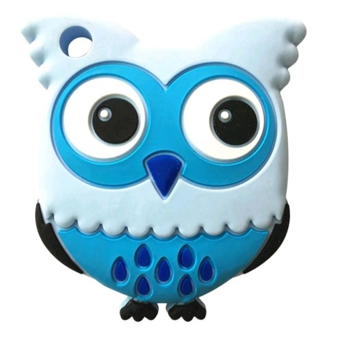 Baby Teether Owl (Blue)