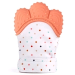 Glove Bite Polka Dots (Orange)