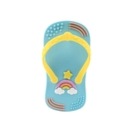 Baby Teether Flip Flop Blue