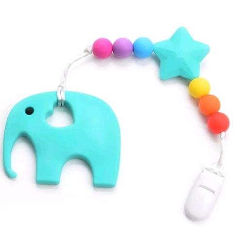 Beadsy Set Elephant (Turquoise)