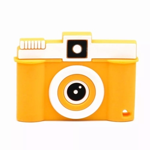 Baby Teether Camera (Orange)