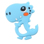 Baby Teether Cute Dino (Blue)
